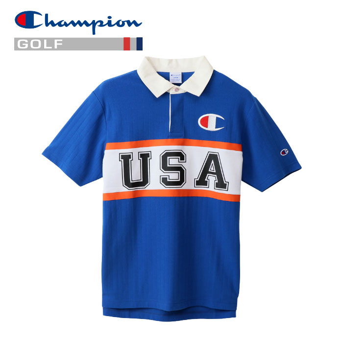 チャンピオン ポロシャツ ゴルフ C3-PG302-327 メンズ 19SS