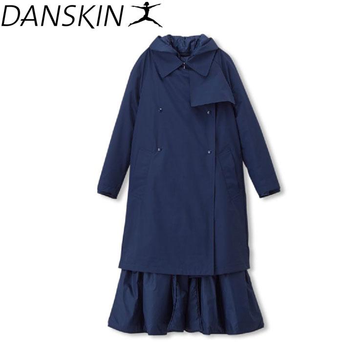 ダンスキン 3WAY TRENCH COAT レディース DARK3833-MD
