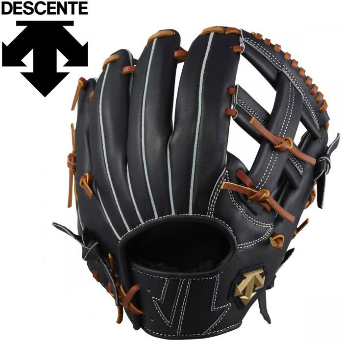 デサント 野球 軟式サード用グラブメンズ DBBPJG55-BKTN