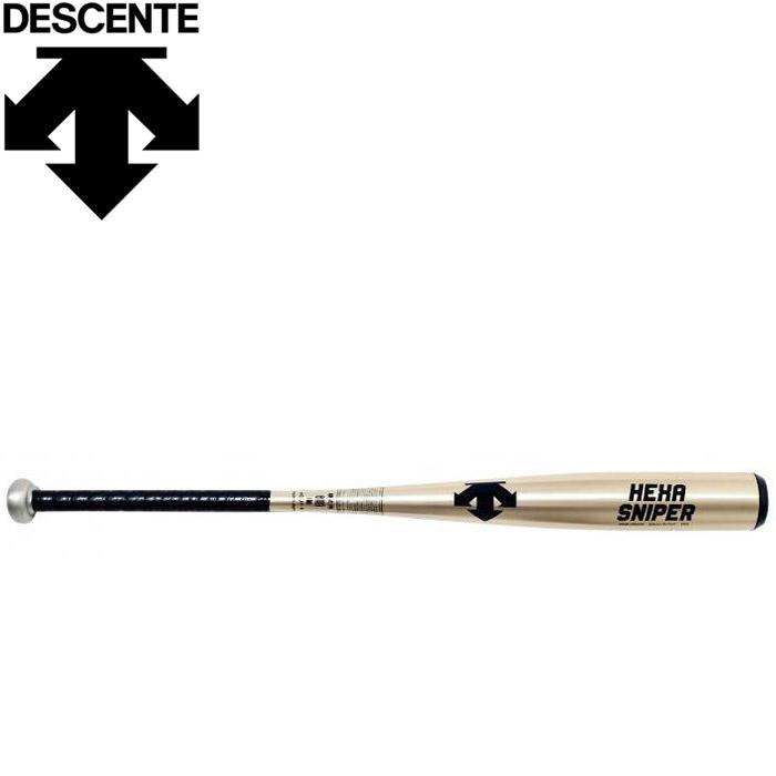 デサント 野球 硬式金属バットメンズ DKB-HS410-GLD