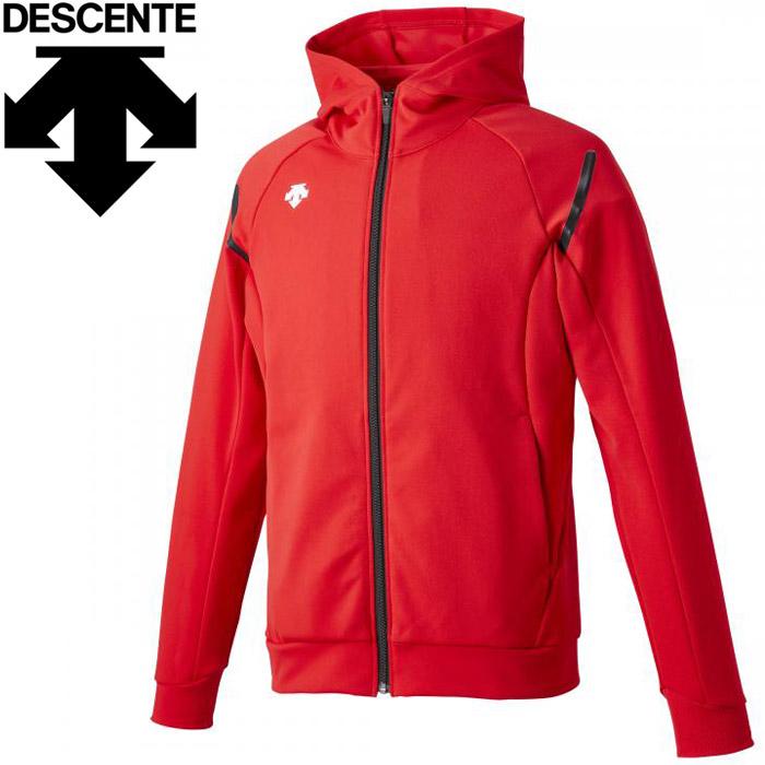 デサント トレーニングジャケットメンズ DTM-1013-RED