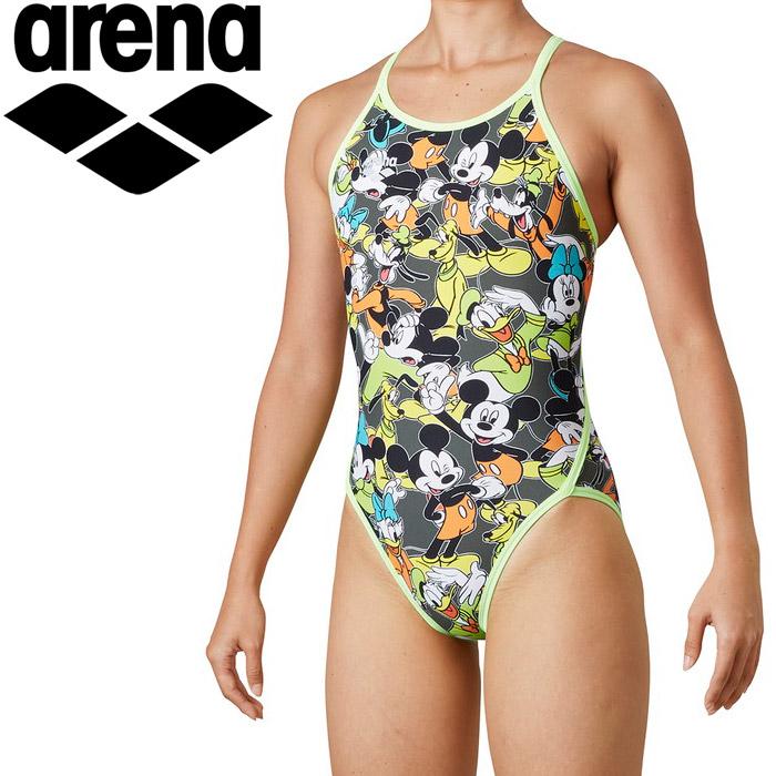 アリーナ 水泳 スーパーフライバック レディス DIS-0302W-KKYL