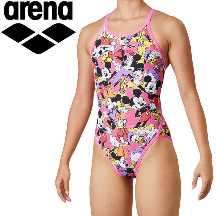 アリーナ 水泳 スーパーフライバック レディス DIS-0302W-PKPL