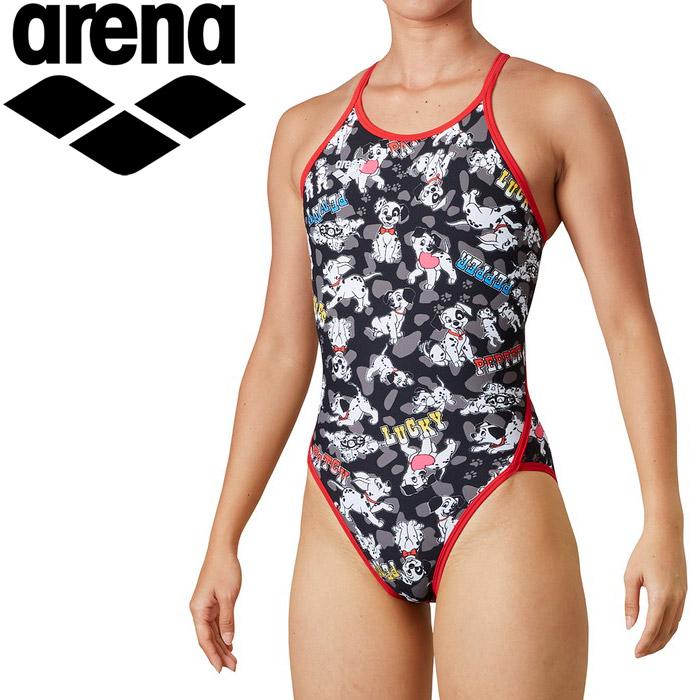 アリーナ 水泳 スーパーフライバック レディス DIS-0304W-BLK