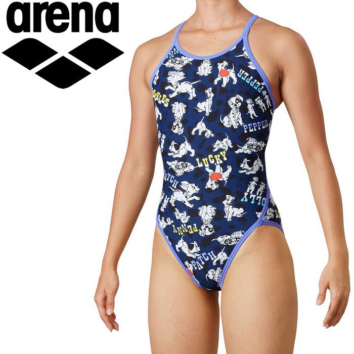 アリーナ 水泳 スーパーフライバック レディス DIS-0304W-NVY
