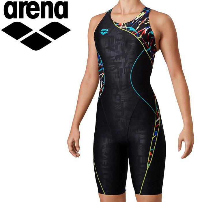 アリーナ 水泳 サークルバックスパッツ(ぴったりパッド)(着やストラップ) レディス LAR-0207W-MLT