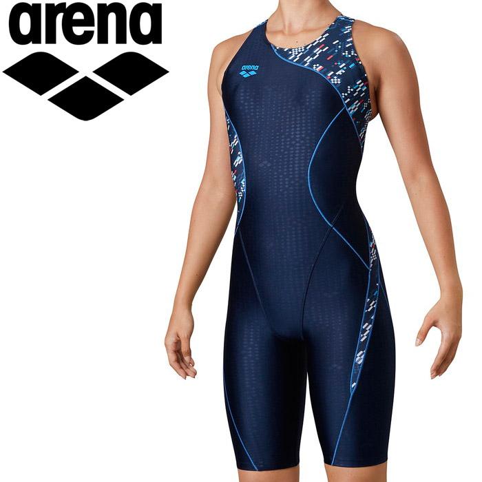 アリーナ 水泳 サークルバックスパッツ(ぴったりパッド)(着やストラップ) レディス LAR-0217W-NVY