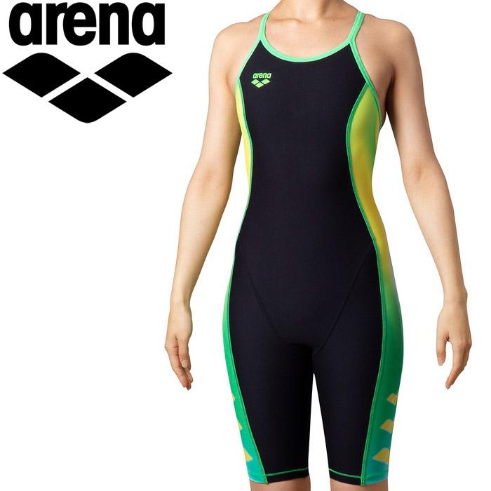 アリーナ 水泳 タフフライバックスパッツ レディス SAR-0130W-BKGN