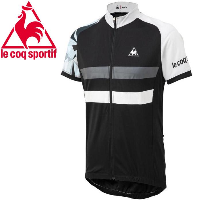 ルコック サイクリング Graphic Jersey Basic メンズ QCMPGA47-BLK
