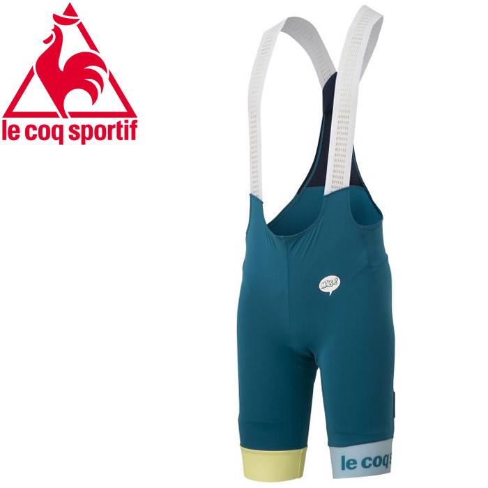 【メール便送料無料】 ルコック サイクリング Steel Bib Pants メンズ QCMPGD37-ODP