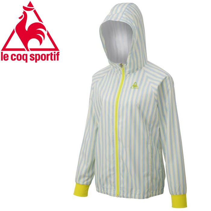ルコック テニス ストライプジャケット ウィメンズ QTWPJC22-FRG