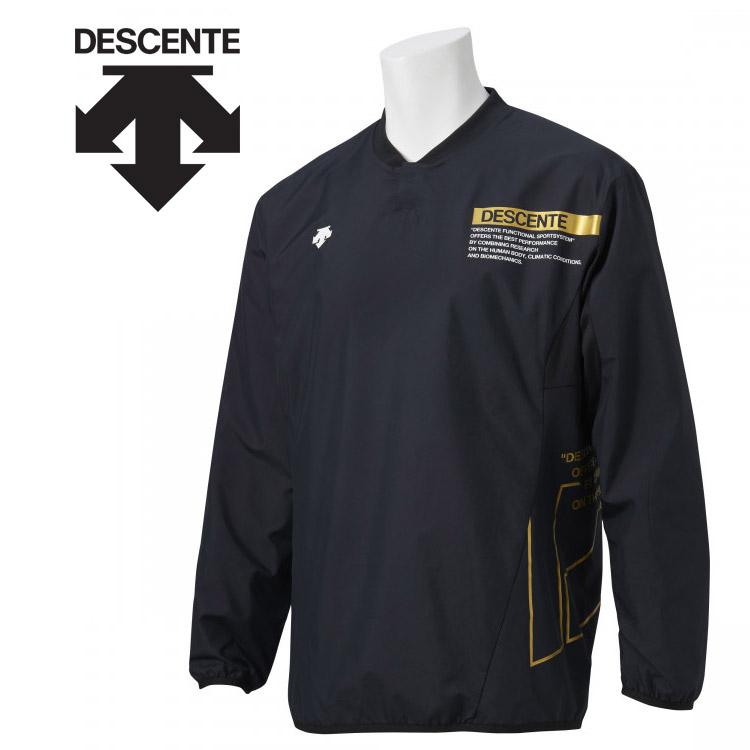 デサント バレー ウォーマージャケット 驚きの値段で 海外限定 DVUSJF30-BK ユニセックス