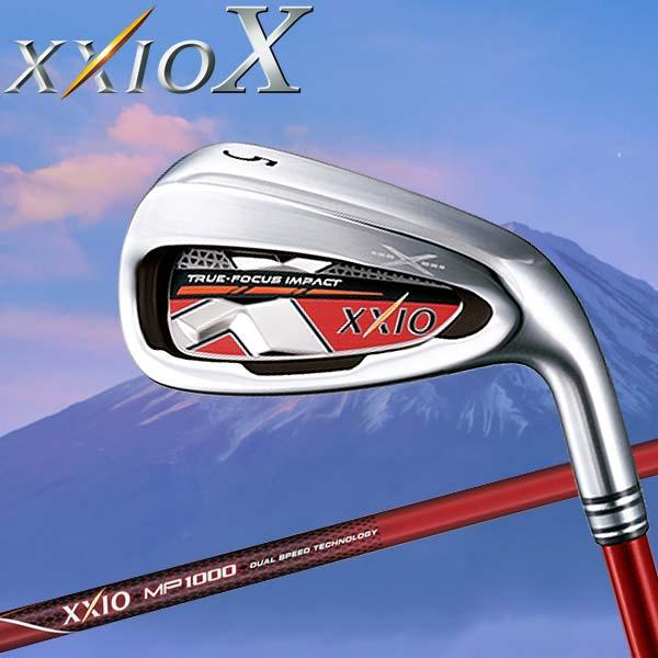【あす楽対応】 ダンロップ XXIO X ゼクシオ テン アイアン 単品 レッド MP1000 カーボン 2018モデル