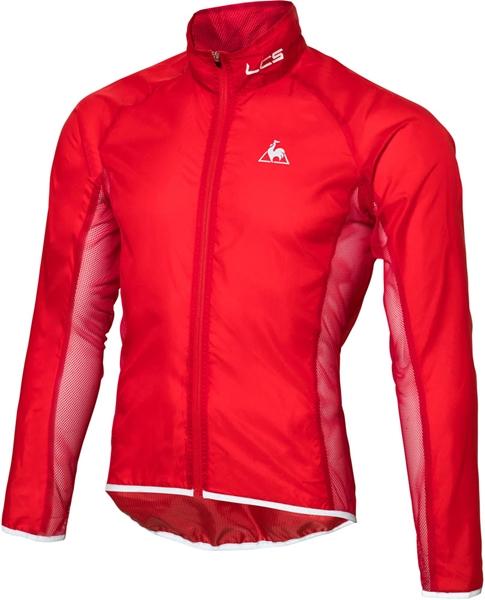 ルコック サイクル メンズ クリアジャケット QCMLGC20-RED 18SS