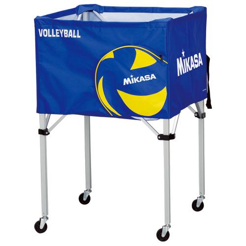 ミカサ バレーボール ボールカゴ箱型大バレーボール ブルー BC-SP-H VB