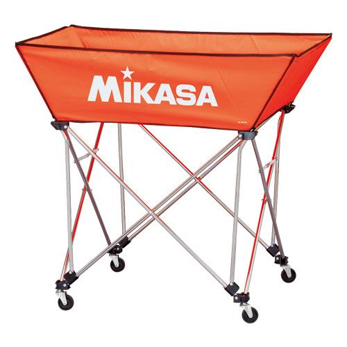 ミカサ ボールカゴ舟形大3点セット オレンジ BC-SP-WL O