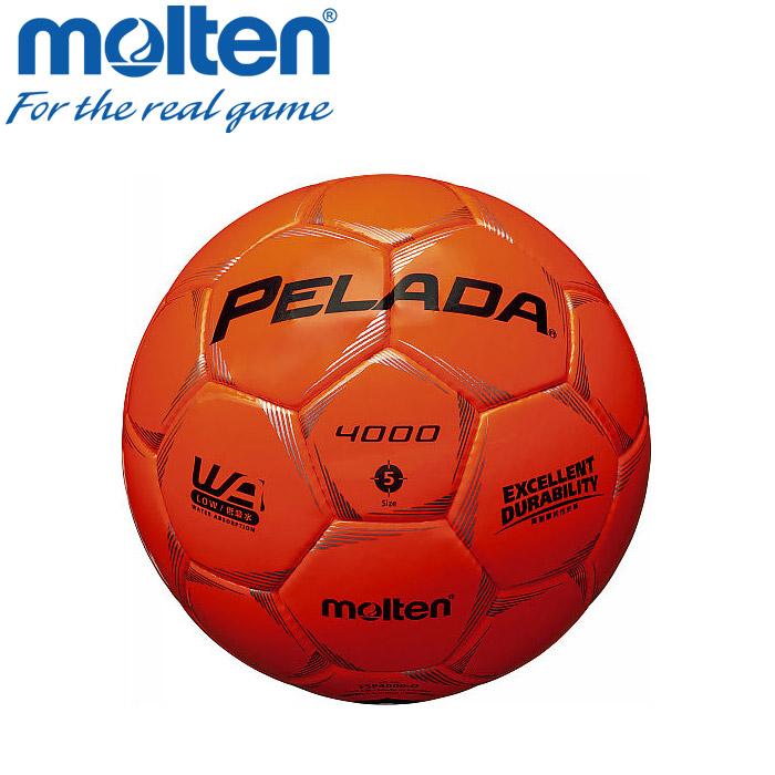 モルテン サッカー サッカーボール 5号 ペレーダ4000 検定球 F5P4000-O