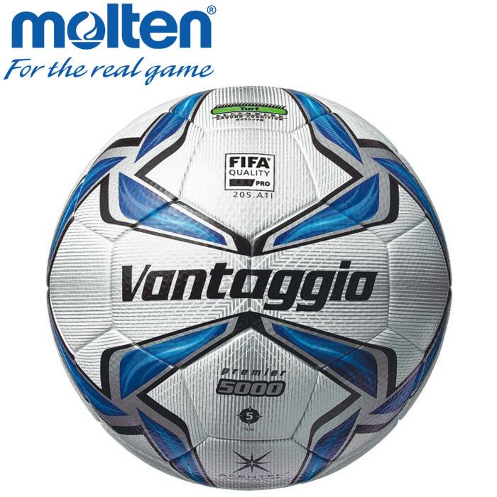 モルテン サッカー サッカーボール 5号 ヴァンタッジオ5000プレミア 検定球 国際認定球 F5V5003