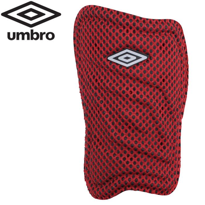 人気ブランド アンブロ サッカー 人気上昇中 レガース ライトウィンドスルーシンガード UJS4601-RED すねあて
