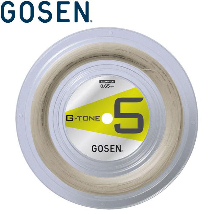 고센바드민톤바드민톤스트링스갓트 G-TONE5 지・톤・파이브로르 BS0651-na