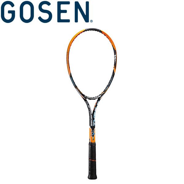 ゴーセン 軟式テニスラケット (フレームのみ) カスタムエッジ タイプS SRCETS-SO