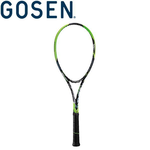 ゴーセン 軟式テニスラケット (フレームのみ) カスタムエッジ タイプX SRCETX-BG