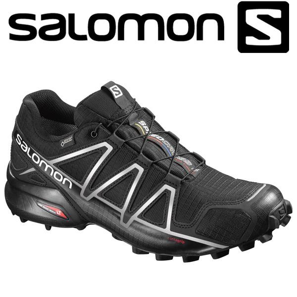 サロモン トレイルランニングシューズ メンズ SPEEDCROSS 4 GTX L38318100
