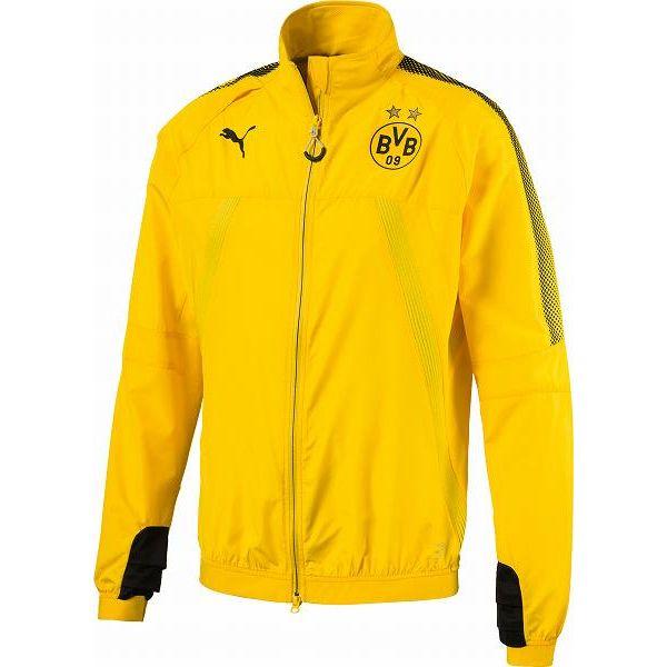 プーマ サッカー レプリカウェア ジャケット メンズ レディース BVB スタジアムベントサーモ-R ジャケット 751759-01