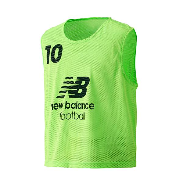 17SS ニューバランス サッカー ビブス メンズ 10枚セット トレーニング ビブス JMTF6191-FLG