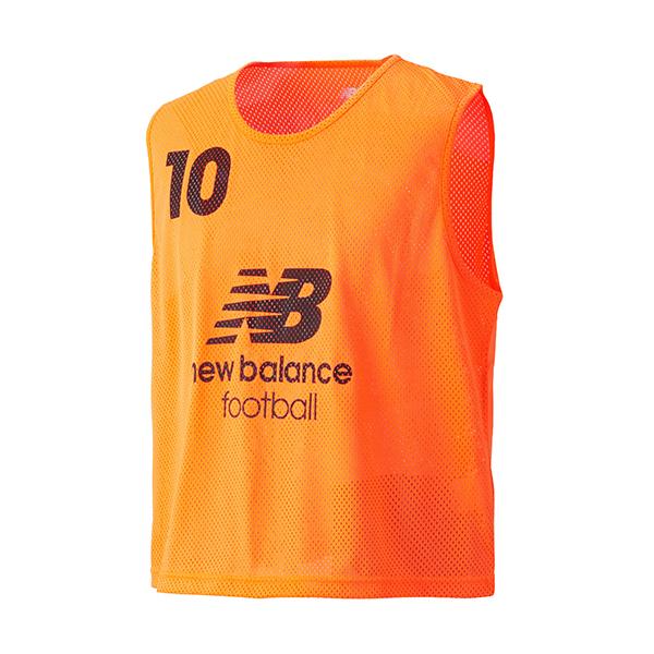 17SS ニューバランス サッカー ビブス メンズ 10枚セット トレーニング ビブス JMTF6191-FLO