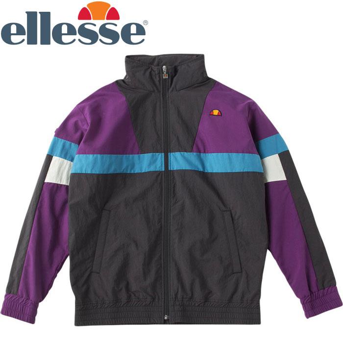 エレッセ カラーブロックウインドジャケット メンズ レディース EH58302-K