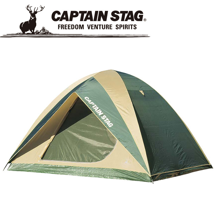 CAPTAIN STAG キャプテンスタッグ プレーナドームテント(5~6人用)(キャリーバッグ付) M3102