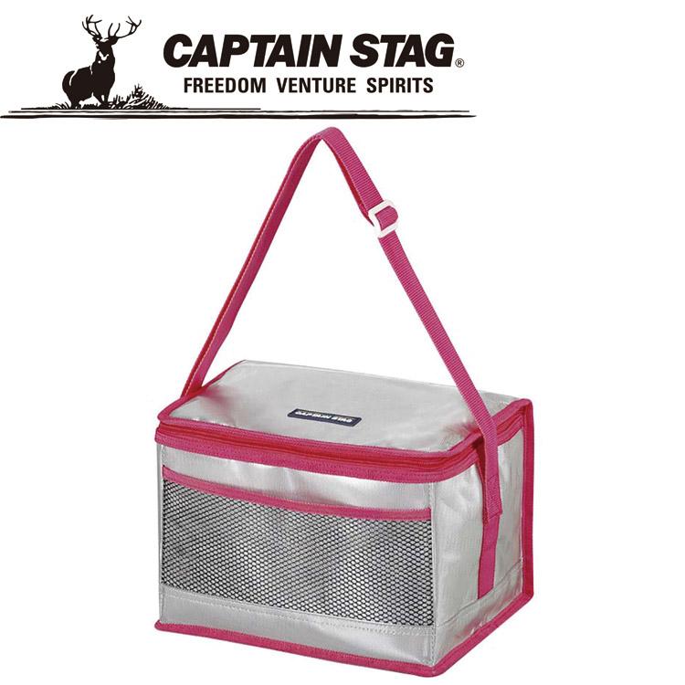 キャプテンスタッグ セジール ソフトクーラーバッグ 6L(ピンク) M2969