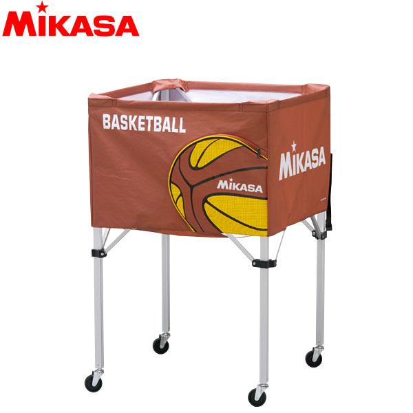 ミカサ MIKASA ボールカゴ 箱型 中 バスケット BC-SP-S-BB アルミ軽量 バスケットボール15~20個