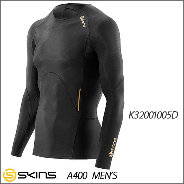 スキンズ A400 ロングスリーブトップ コンプレッションインナー メンズ SKINS K32001005D