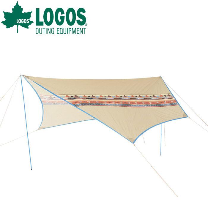 【ポイントアップ祭!】LOGOS ロゴスナバホTepee ブリッジヘキサ-AE71806509 Tepeeテントと連結で広がるリビングスペース