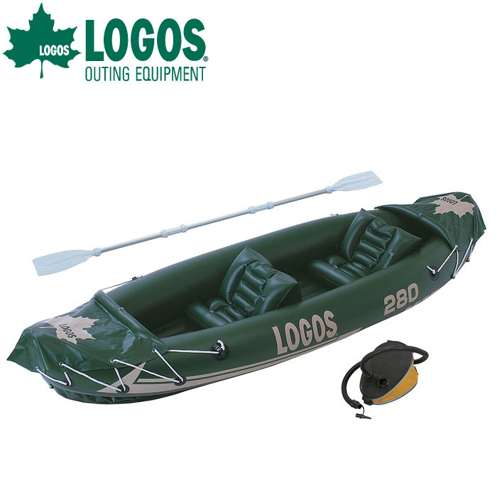 LOGOS ロゴス LOGOS 2マンカヤック 66811180 ゴムボート
