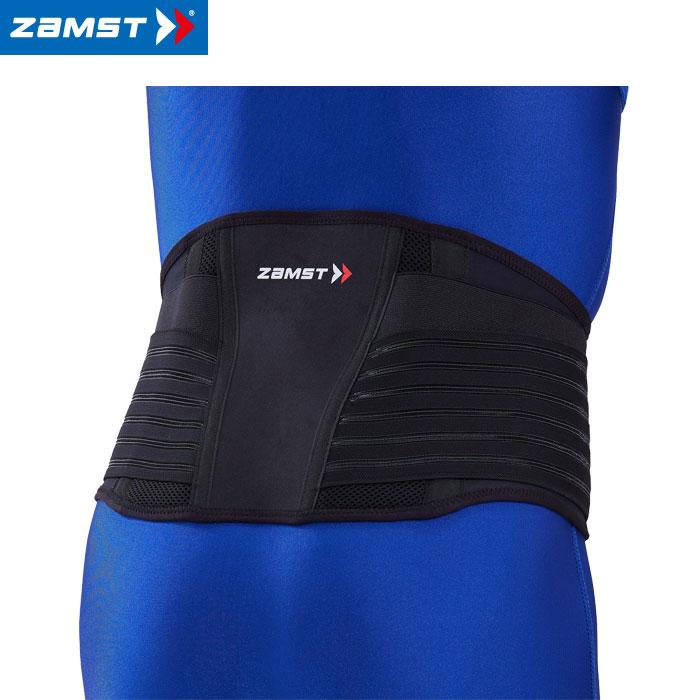 ザムスト ZW-7 3Dバックパネル入り腰用サポーターハードサポート ZAMST【返品不可】