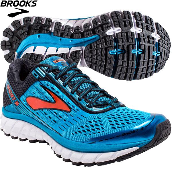 new concept 02049 1f0b0 Brooks running shoes men ghost 9 BROOKS 1102331D431