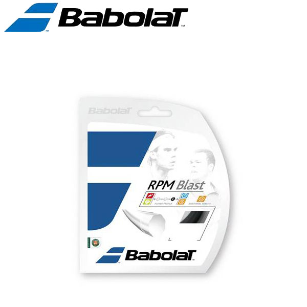【24時間限定ポイント10倍! 4/5 0:00~23:59迄】バボラ 硬式テニスストリングス ガット RPMブラストロール BA243101-90