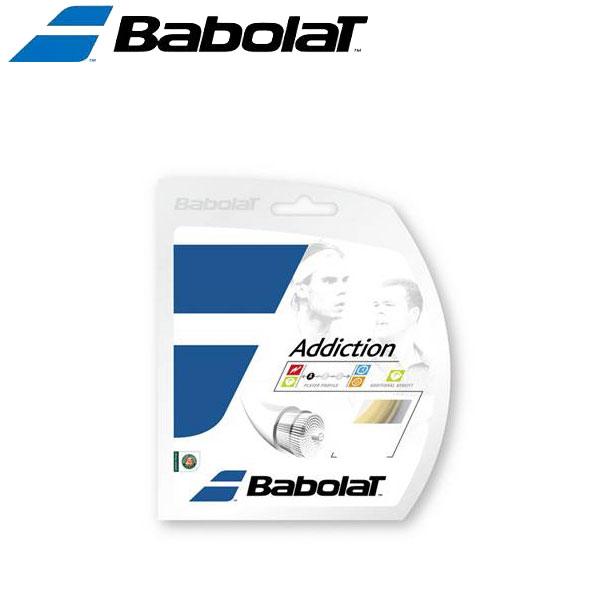 バボラ 硬式テニスストリングス ガット アディクションロール BA243115-15