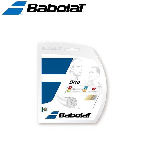 バボラ 硬式テニスストリングス ガット ブリオロール BA243118-15