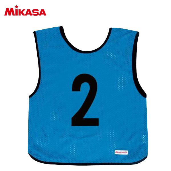 ミカサ ゲームジャケット ジュニア 10枚組 ブルー GJJ210-B