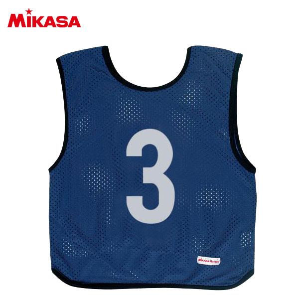 ミカサ ゲームジャケット ジュニア 10枚組 ネイビーブルー GJJ210-NB