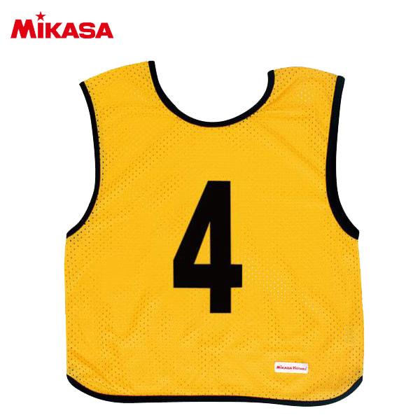 ミカサ ゲームジャケット ジュニア 10枚組 イエロー GJJ210-Y
