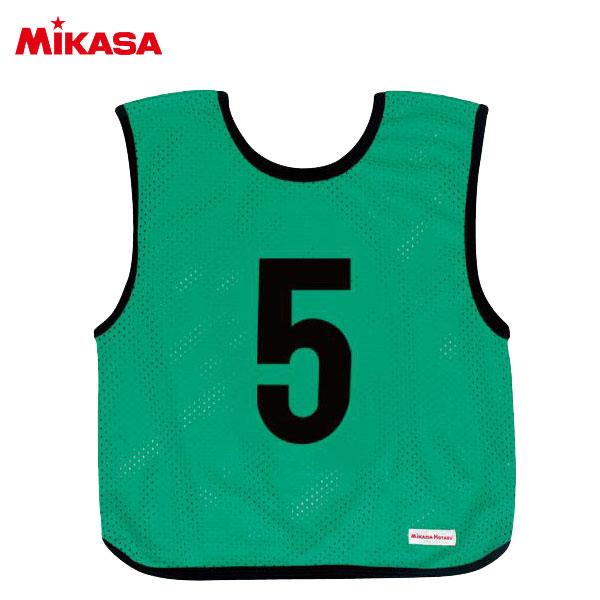 ミカサ ゲームジャケット ジュニア 10枚組 グリーン GJJ210-G