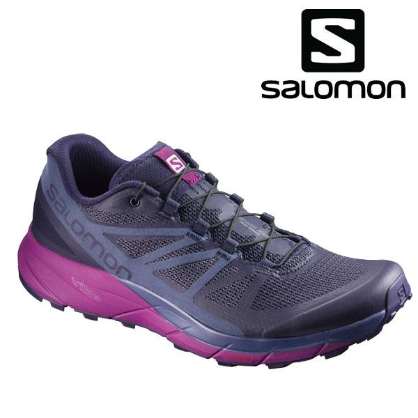 サロモン SENSE RIDE レディース トレイル ランニングシューズ Salomon L39848100