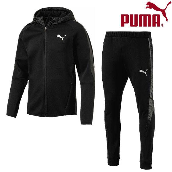 プーマ トレーニング ジャケット ロングパンツ 上下セット メンズ 594832-594834-01 17FW