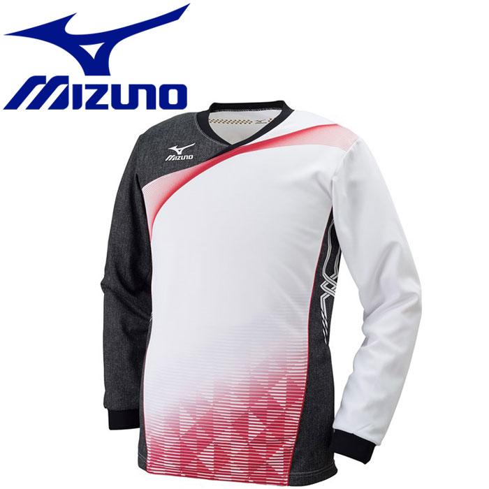 ミズノ バレーボール ゲームシャツ 長袖 メンズ レディース V2JA602101