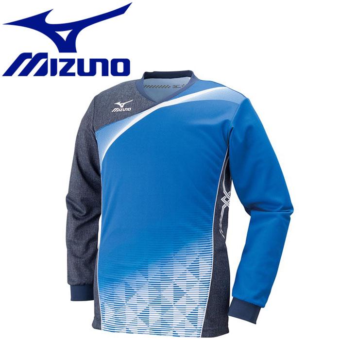 ミズノ バレーボール ゲームシャツ 長袖 メンズ レディース V2JA602126
